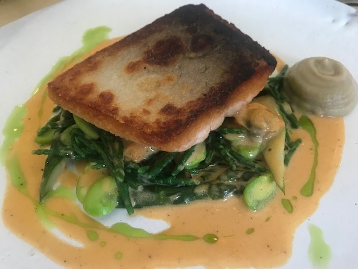 The Little Chartroom's 'greens' under sea trout