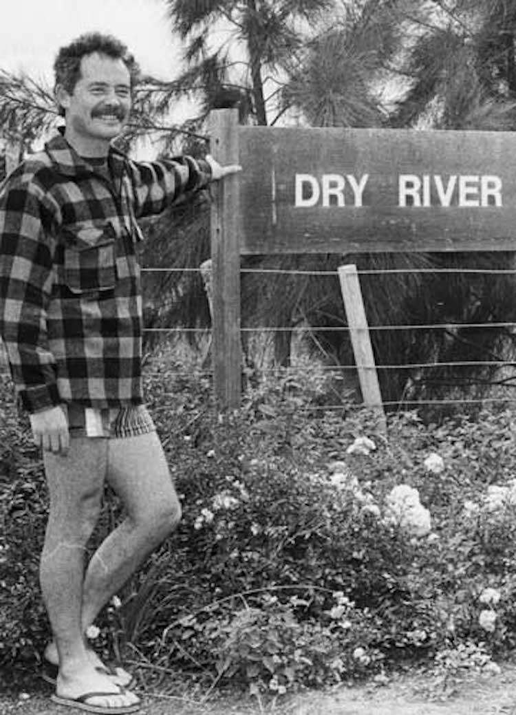 Dr Neil McCallum of Dry River in the early 1980s