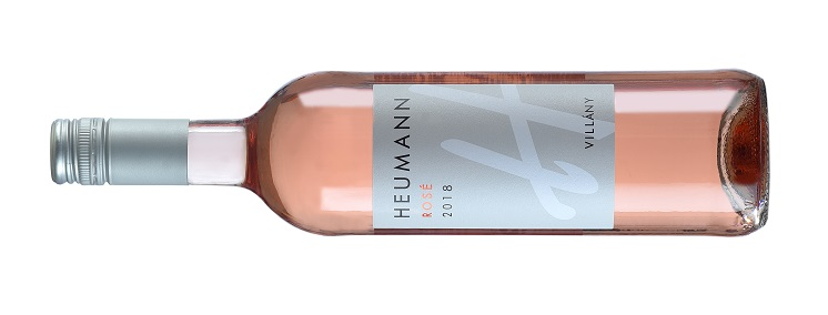 Heumann rose 2018 bottle shot