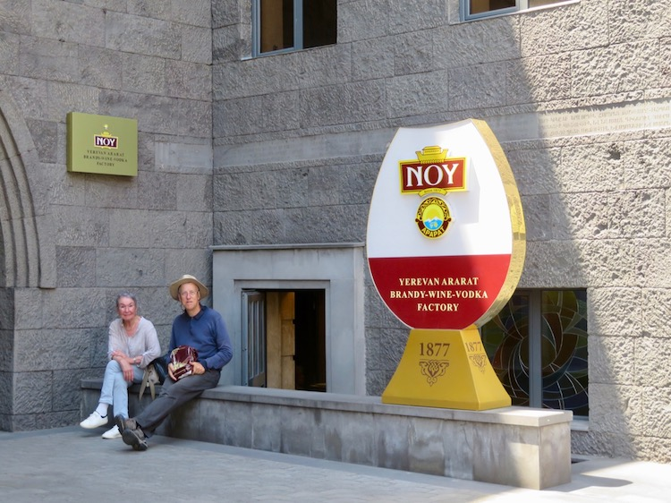 Noy-Ararat wine and brandy factory in Armenia