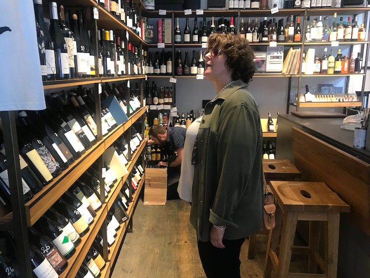 Christine Parkinson examines the wine selection at Quality Wines
