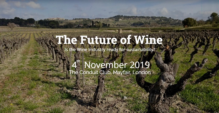 The Future of Wine conference banner
