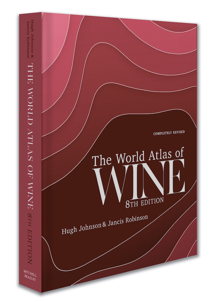 US jacket of the 8th edition of The World Atlas of Wine