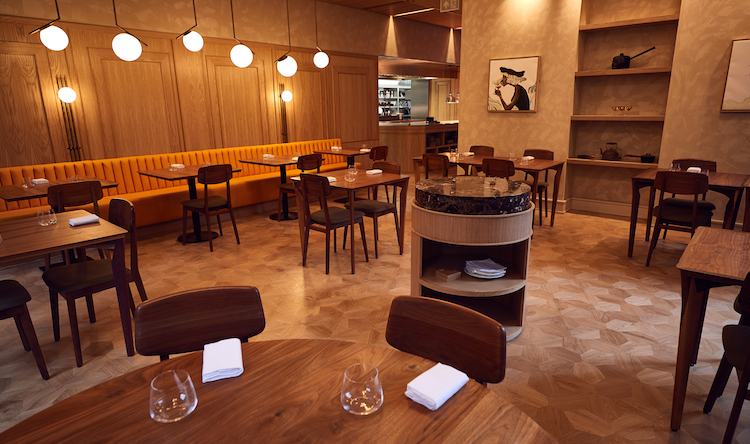Trivet restaurant interior in London