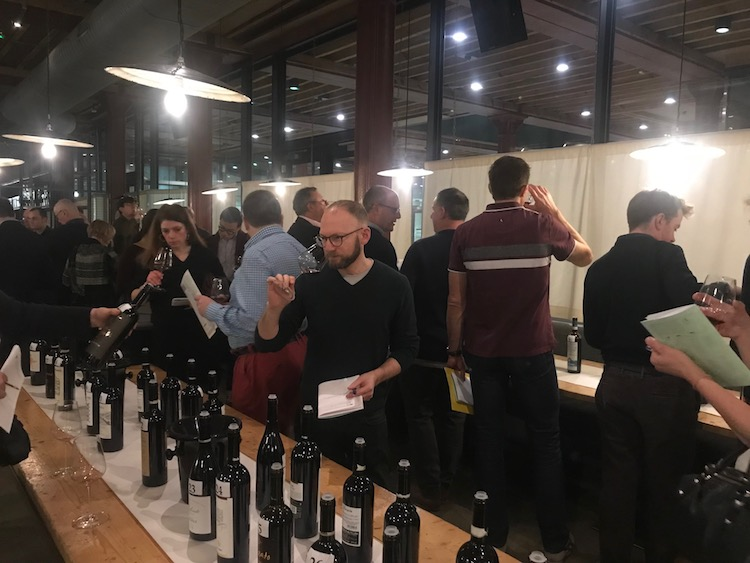 Andrew Morris tastes at Valtellina Night