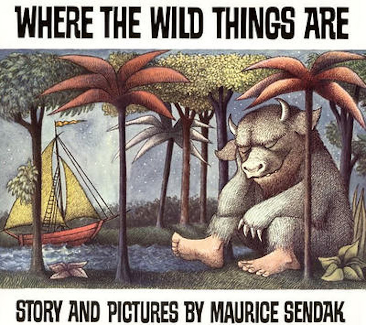 Where the wild things are book jacket
