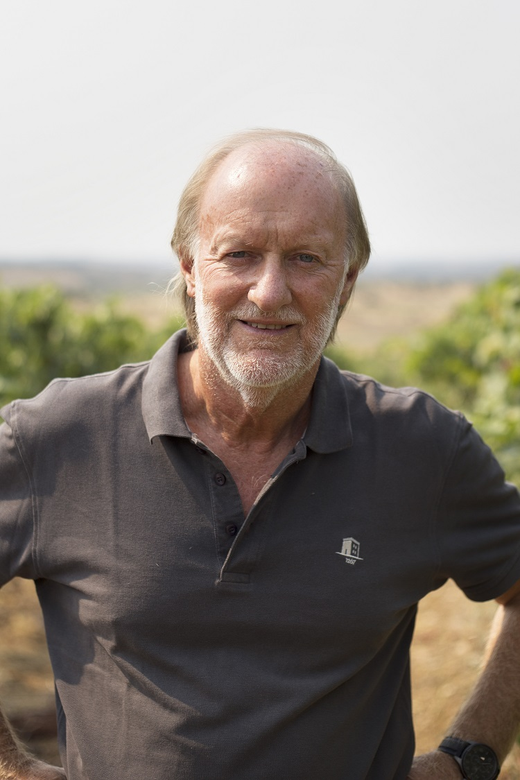 Head winemaker Australian-born David Baverstock