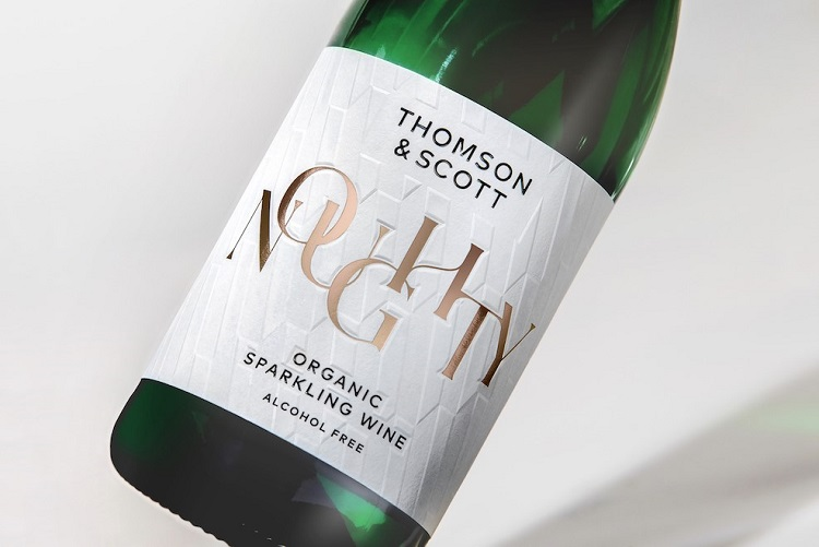 Thomson & Scott Noughty bottle label