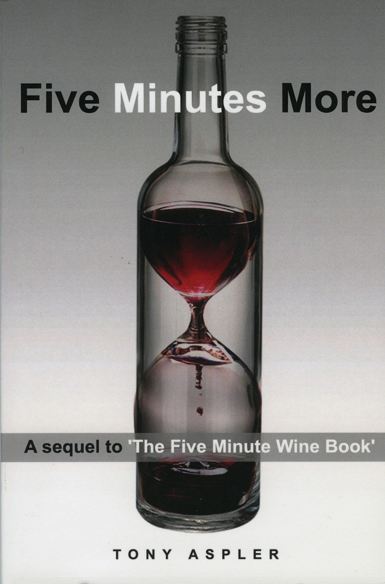 Five Minutes More by Tony Aspler book cover