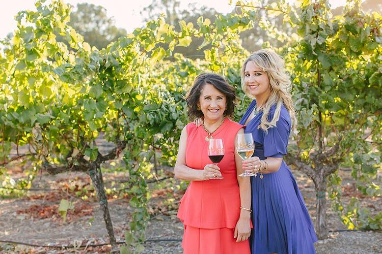 Amelia Ceja and her daughter Dalia of Ceja Vineyards in Carneros