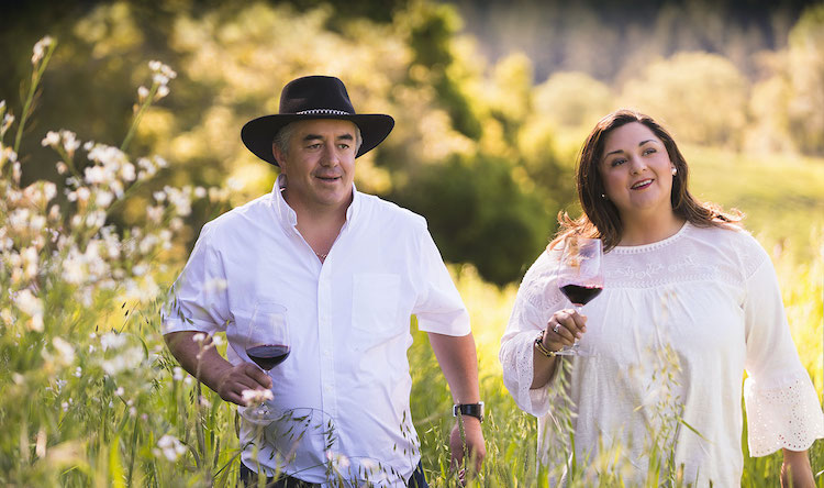 Rolando and Lorena Herrera of Mi Sueño Winery in Napa