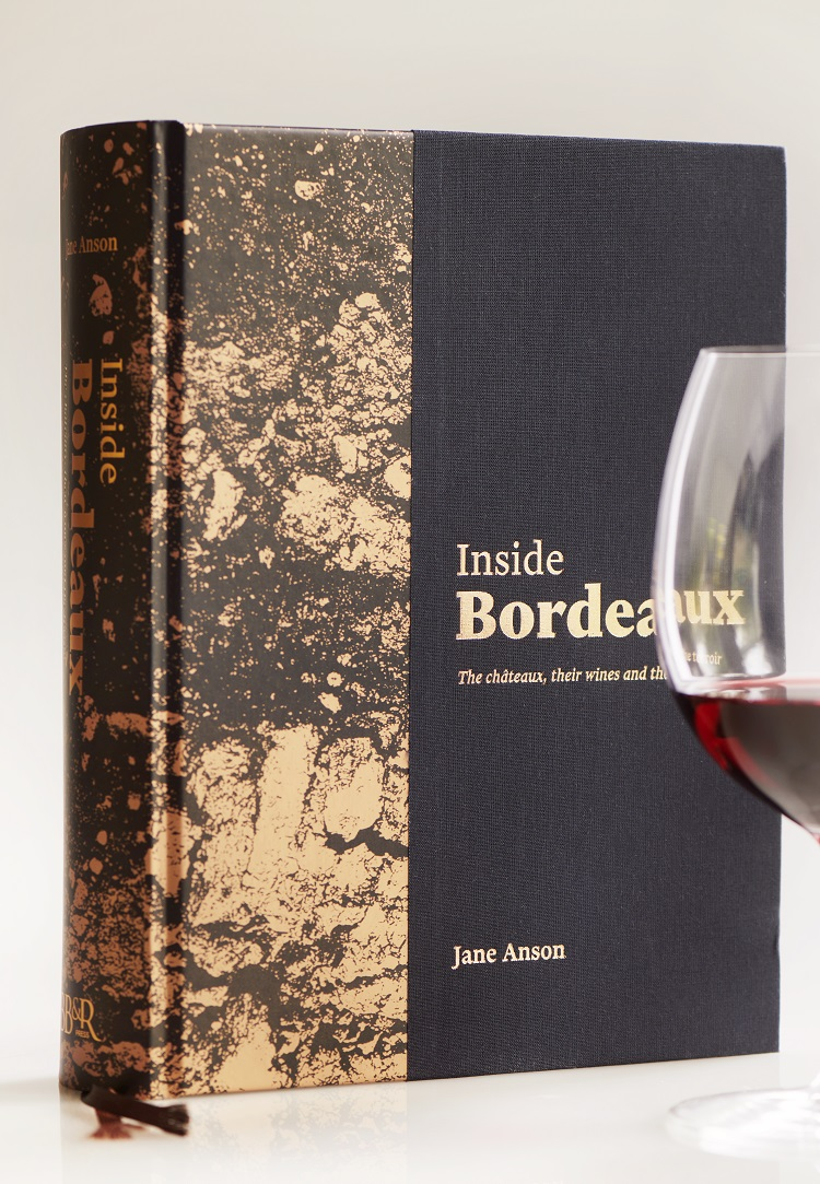 Inside Bordeaux by Jane Anson book cover