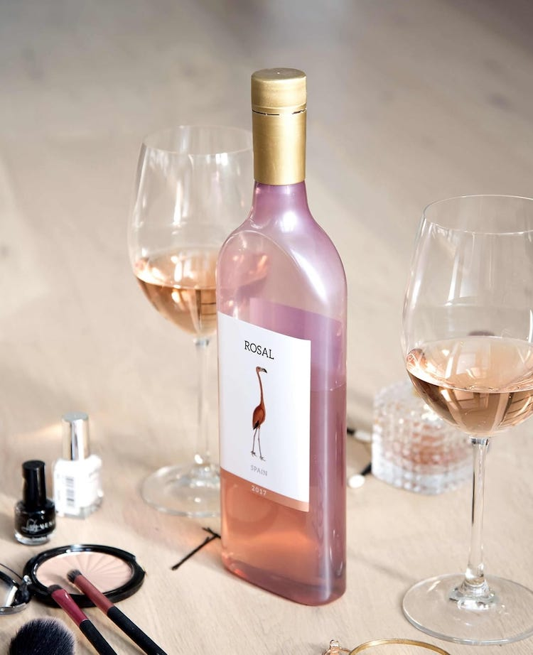 Garcon Wines PET bottle filled with rose