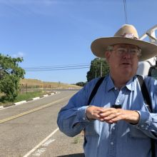 Ken Deaver, owner of the oldest known vineyard in California, Amador County