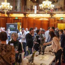 Furmint tasting in Merchant Taylors Hall, London 2020