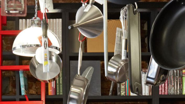 kitchen equipment at Chefs' Warehouse and Canteen