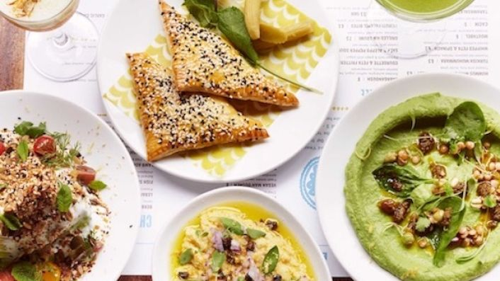 Sample dishes at Arabica restaurants in London