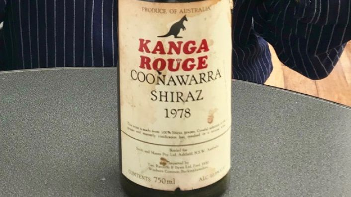 Kanga Rouge 1978 label