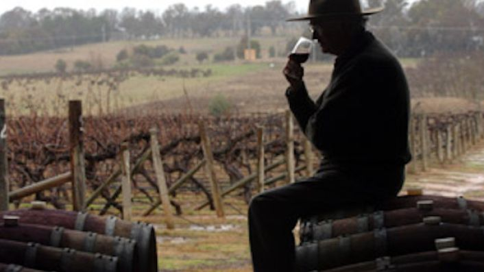 John Kirk of Clonakilla mulls over their Canberra estate's exceptional Shiraz