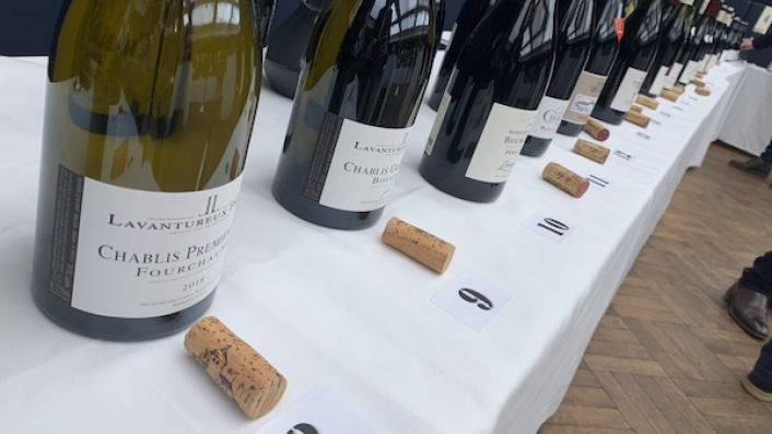 2018 burgundy tasting in London in January 2020