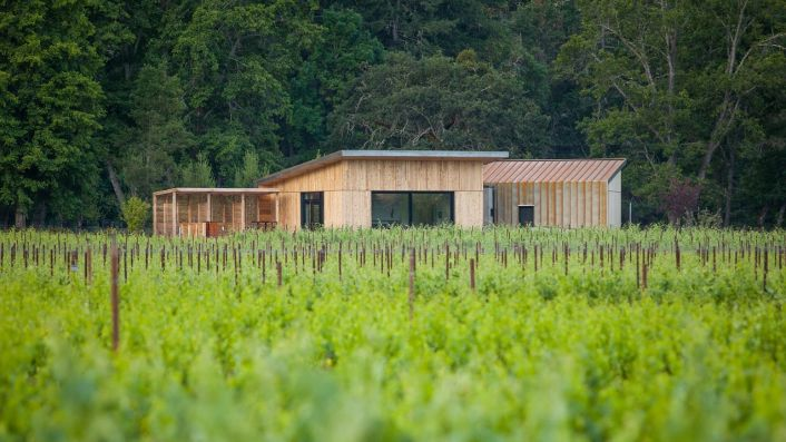 Cowhorn Vineyard's Living Building - photo by Robb McDonough