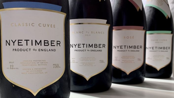 Four bottles of different Nyetimbers