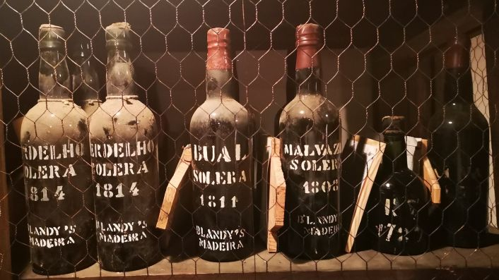 Madeira Wine Company - library wines to 1808 and older