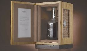 Blandys commemorative madeira bottle in box