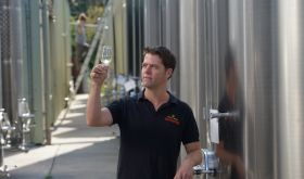 Josh Donaghay-Spire, winemaker at Chapel Down, Kent, England