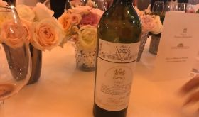 Ch Mouton Rothschild 1945 at the Palace of Versailles dinner
