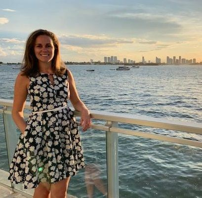 Writing competition 2019 winner Sarah Phillips in Miami