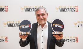 Jose Zuccardi collects awards at the first World's Best Vineyards