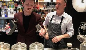 Anthony Demetre and manager at Wild Honey St James