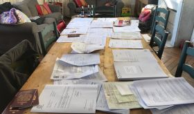 Paperwork needed by Jamie and Jessica Hutchinson, wine producers near Jurancon