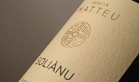 Label of Ledda's Tenuta Solianu Vermentino
