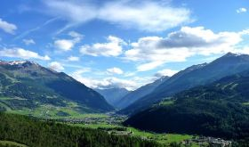 Valtellina in summer