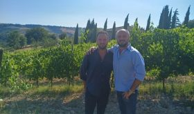 Bernardo and Niccolò Barberani, producers of Orvieto wine