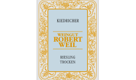 Robert Weil Kiedricher Riesling label