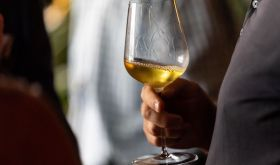 Sauternes in a Jancis Robinson x Richard Brendon glass