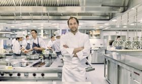 Daniel Humm of Davies & Brook restaurant in Claridge's, London