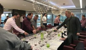 Bordeaux 2016s poured for the Southwold-on-Thames blind tasting