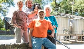 The team behind Navarro Vineyards in Anderson Valley, California