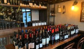 Polvo wine bar and Ferran's central Chilean wine tasting
