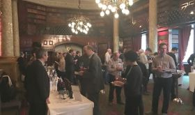 Flint Wines burgundy tasting at the National Liberal Club, London January 2017