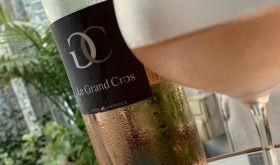Bottle of Grand Cros Provence Rosé 2019