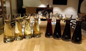Matthew Hayes' blind tasting of France v the rest in Burgundy