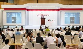 Christie's wine auction in HK