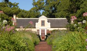 Vergelegen manor house and gardens in Stellenbosch, South Africa