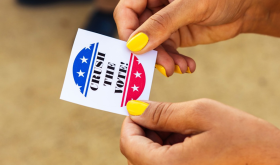 Crush the vote ticket in Napa Valley before the US election 2020