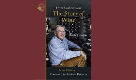 The Story of Wine by Hugh Johnson – book cover